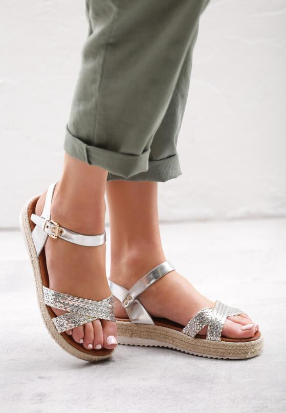 Srebrne Sandały Eigenclass