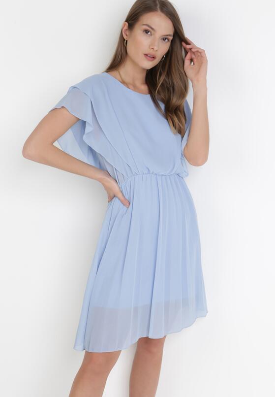 Jasnoniebieska Sukienka Charmer