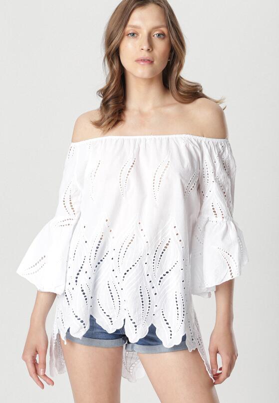 Biała Bluzka Rondeau