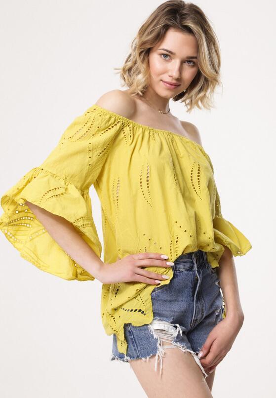 Żółta Bluzka Rondeau