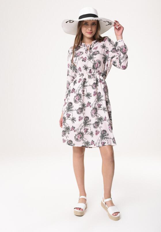 Jasnoróżowa Sukienka Mallow