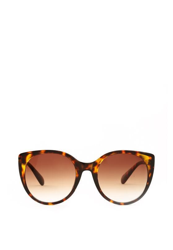 Brązowe Okulary Groovy