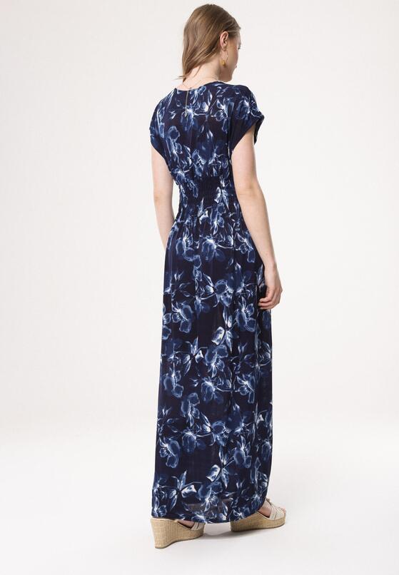 Granatowa Sukienka Nino