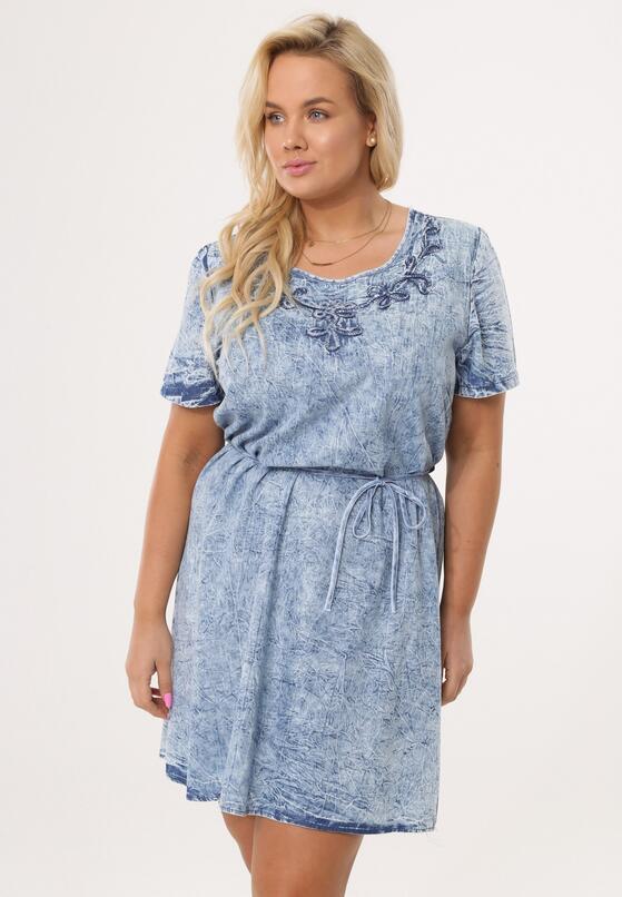 Jasnoniebieska Sukienka Cumulonimbus