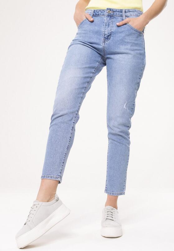 Niebieskie Jeansy Well Defined