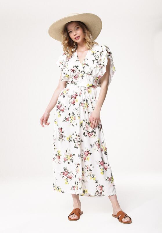 Biała Sukienka Thermals