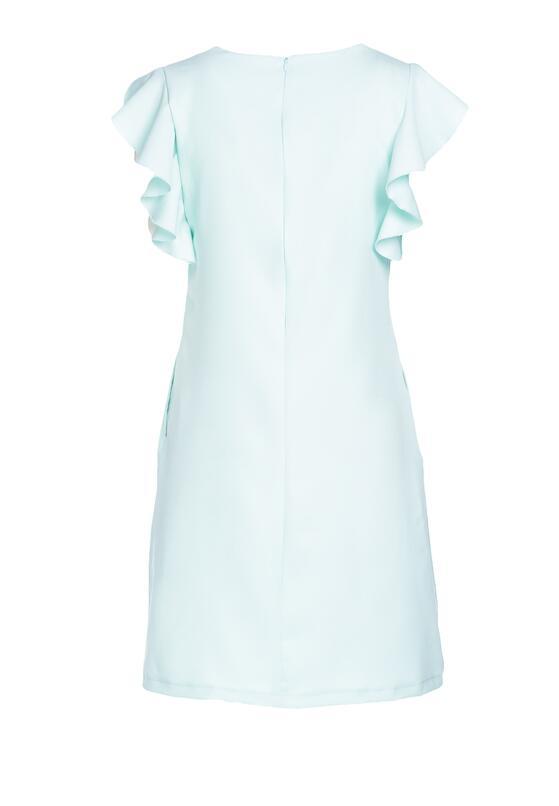 Miętowa Sukienka Dissipating