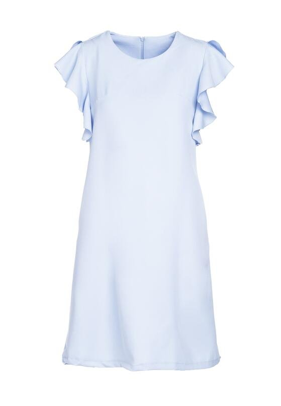 Jasnoniebieska Sukienka Dissipating