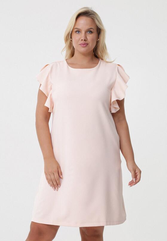 Łososiowa Sukienka Dissipating