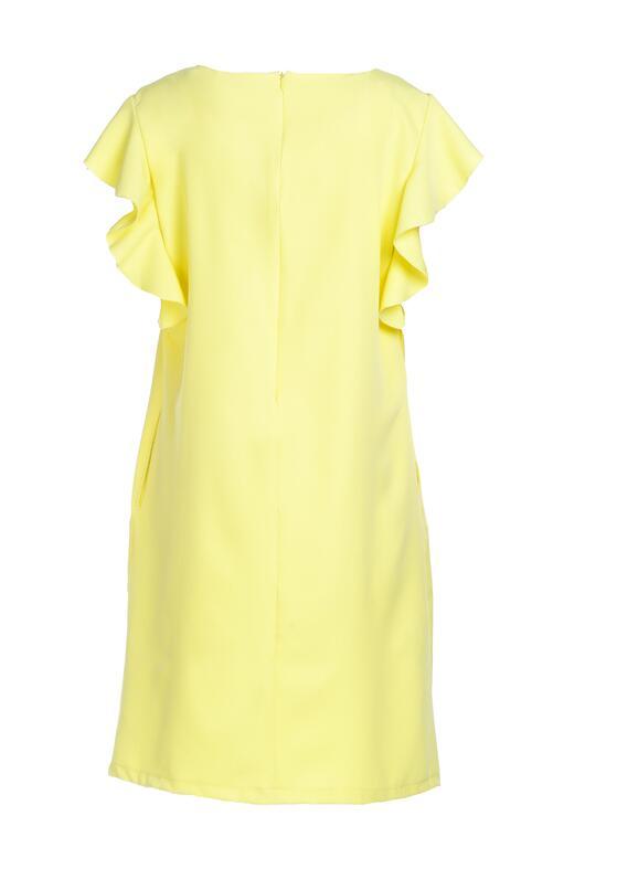 Żółta Sukienka Dissipating