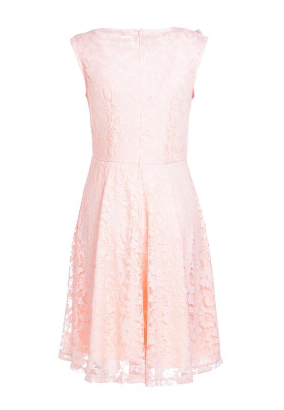 Łososiowa Sukienka Thunderclap