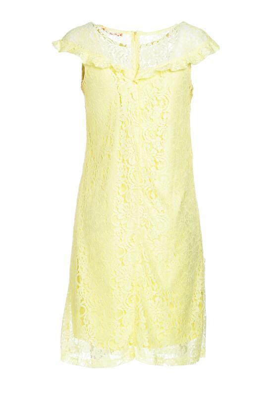Jasnożółta Sukienka Quakes
