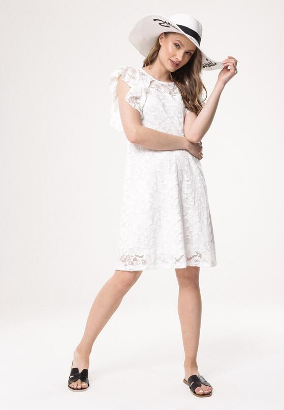 Biała Sukienka Thunderer