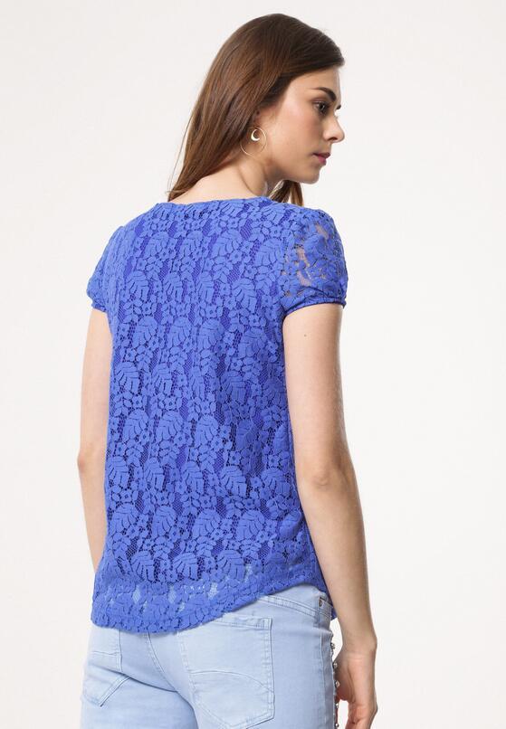 Niebieska Bluzka Overweather