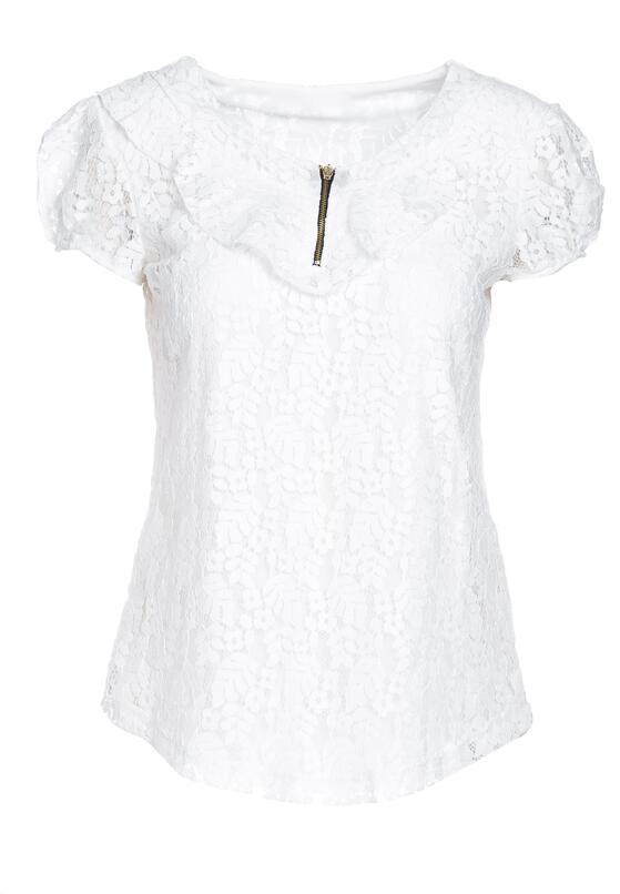 Biała Bluzka Overweather