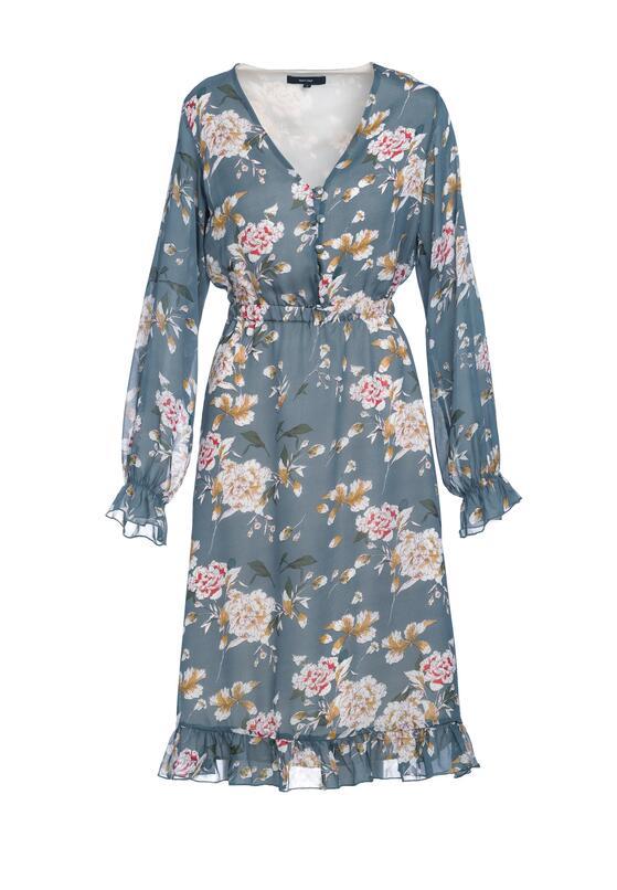 Niebieska Sukienka Misty