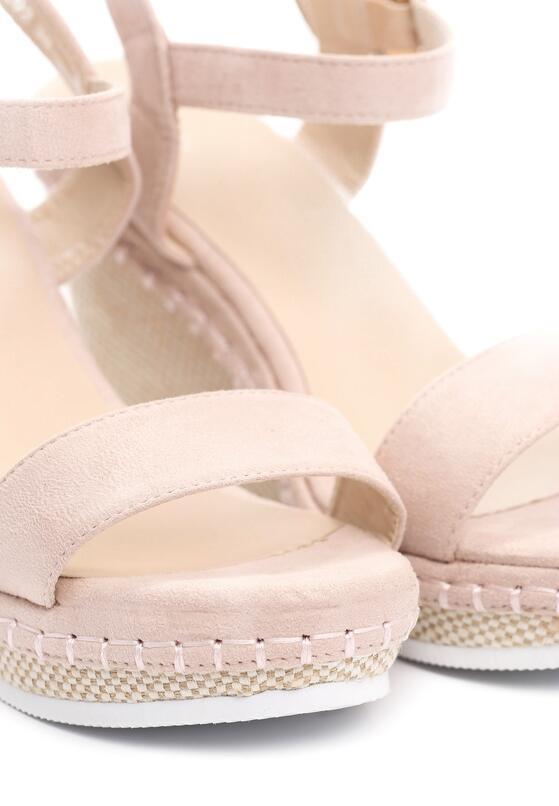 Beżowe Sandały Disingenuous