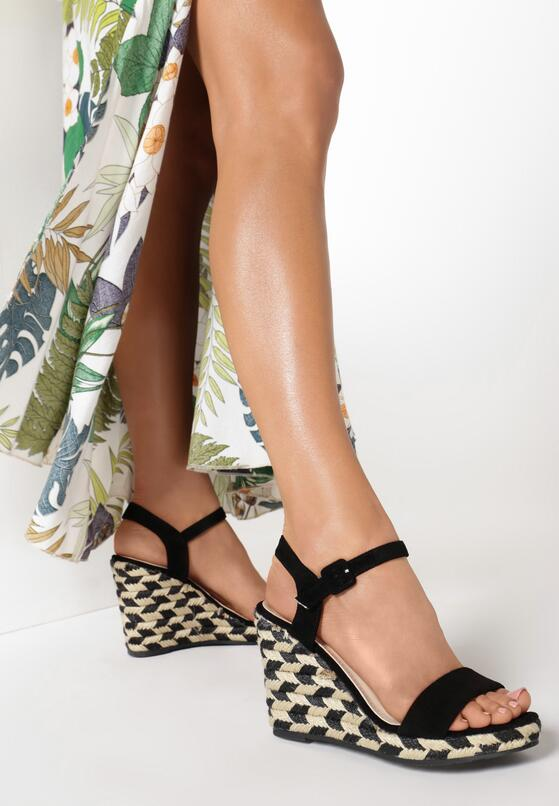 Czarne Sandały Undetermined