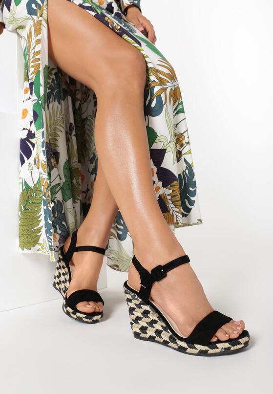 czarne sandały undetermined kod produktu 96408