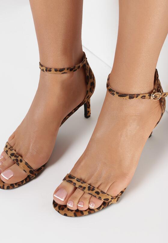 Panterkowe Sandały Pavement
