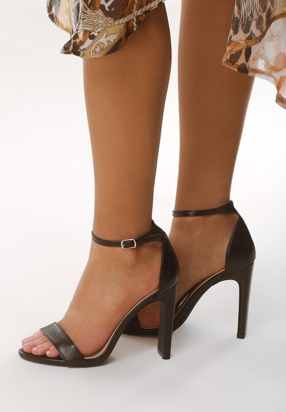 Czarne Sandały Ridiculous