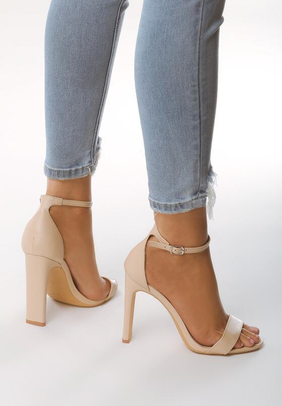 Beżowe Sandały Ridiculous