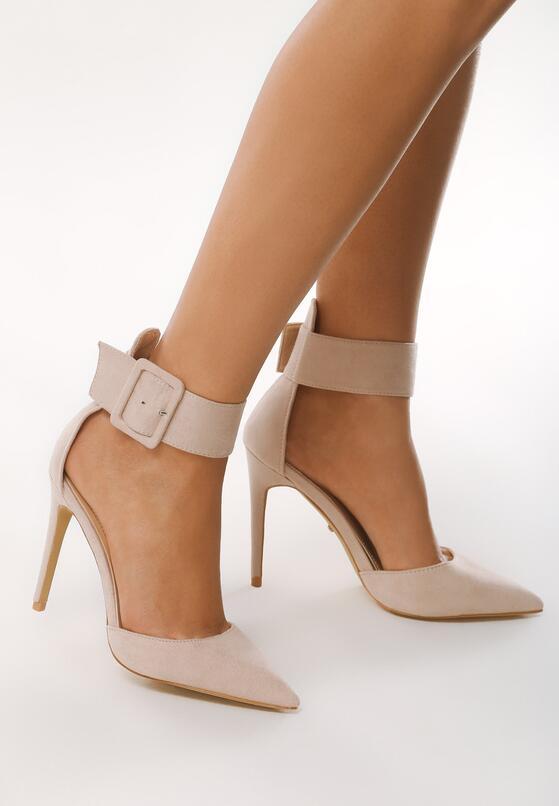 Beżowe Sandały Pathos