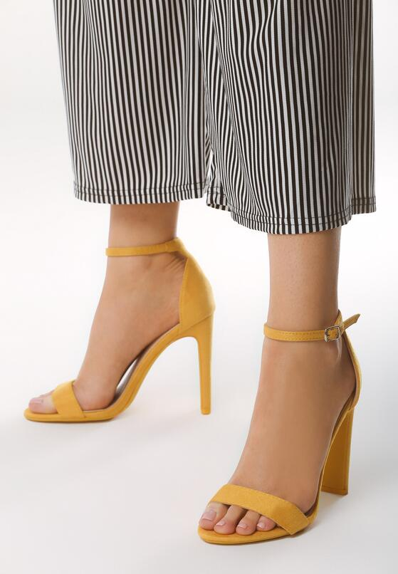 Żółte Sandały Backread
