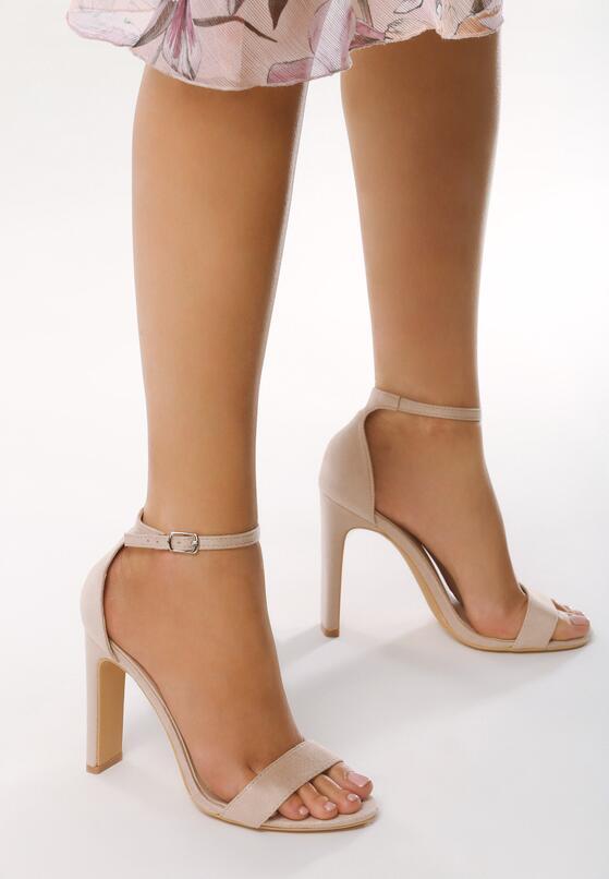 Beżowe Sandały Backread
