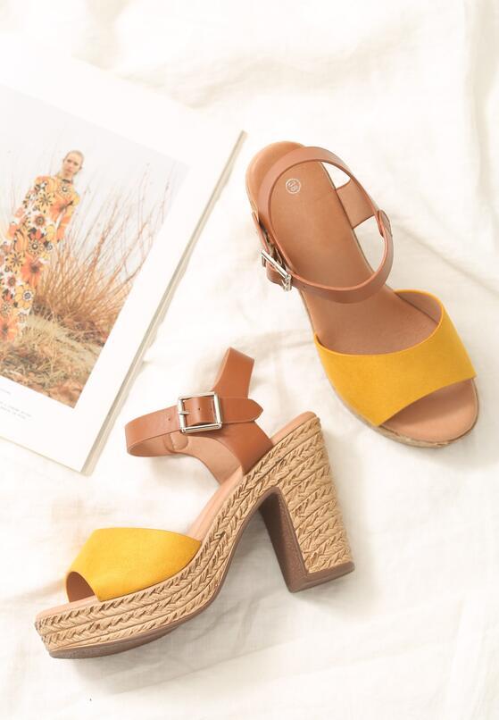 Żółte Sandały Lawmaker