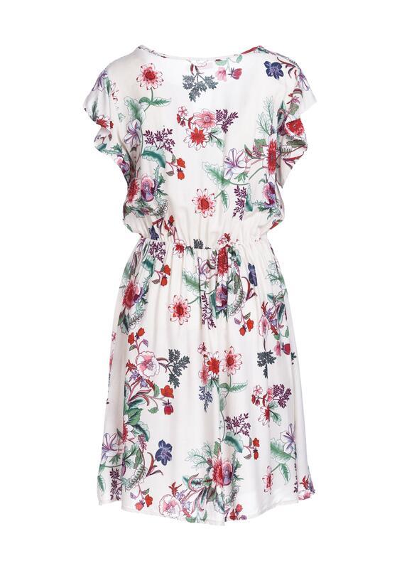 Kremowa Sukienka Tiger Lily