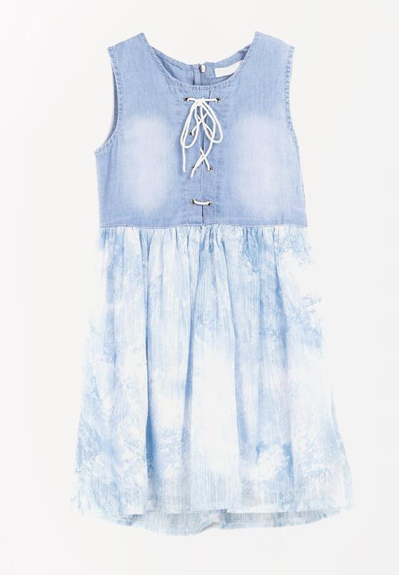 Jasnoniebieska Sukienka Life-Sustaining