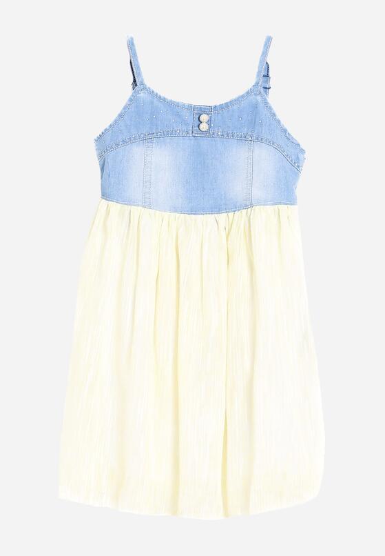 Jasnożółta Sukienka Silica