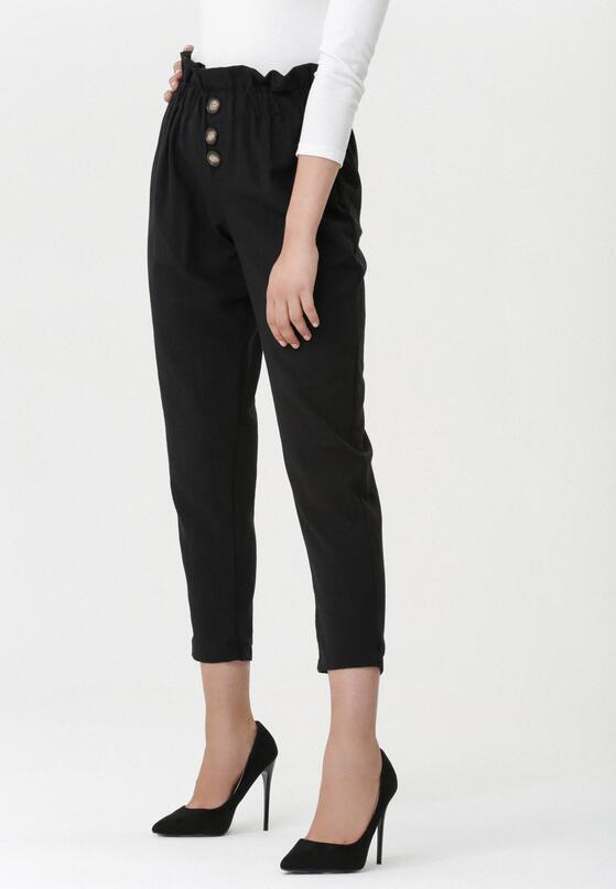 Czarne Spodnie Exanimate