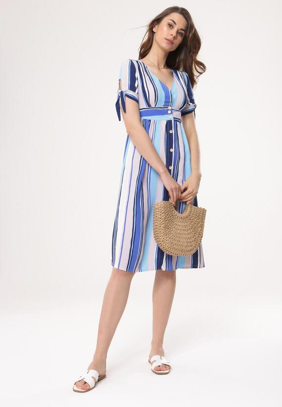 Jasnoniebieska Sukienka Enabling