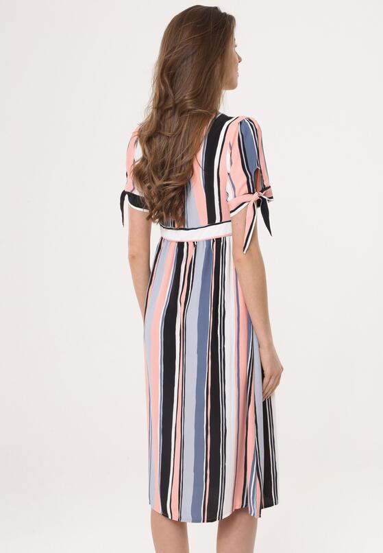 Łososiowa Sukienka Enabling