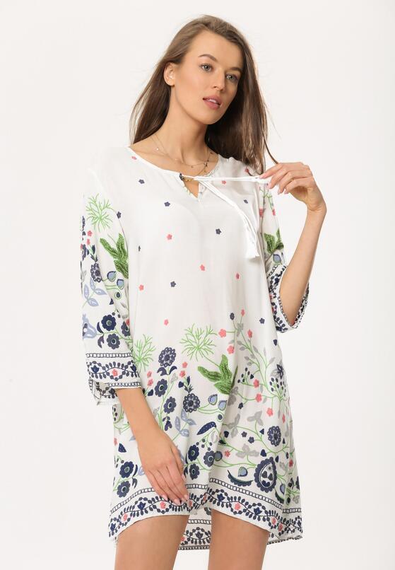 Biała Sukienka Caliche