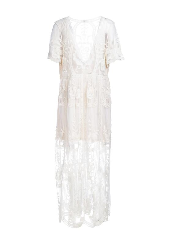 Jasnobeżowa Sukienka Potentially
