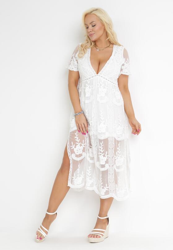 Biała Sukienka Potentially