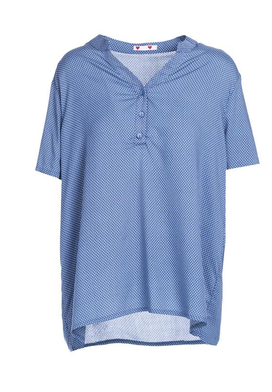 Niebieska Bluzka Clay