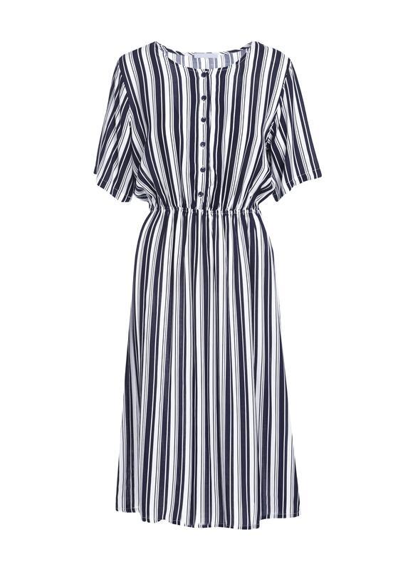 Granatowa Sukienka Quartz