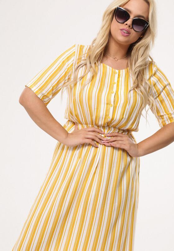 Żółta Sukienka Quartz
