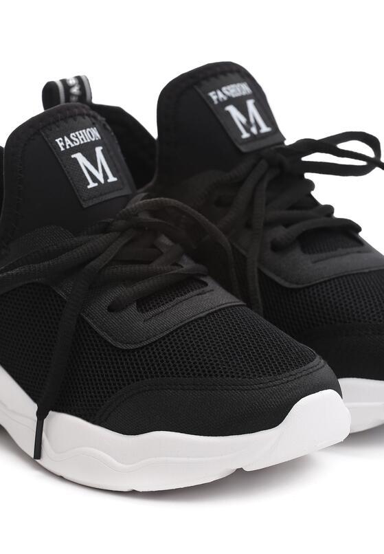 Czarne Buty Sportowe Magneton