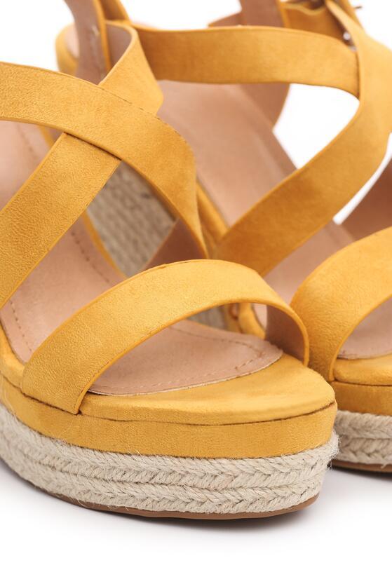 Żółte Sandały Monatomic