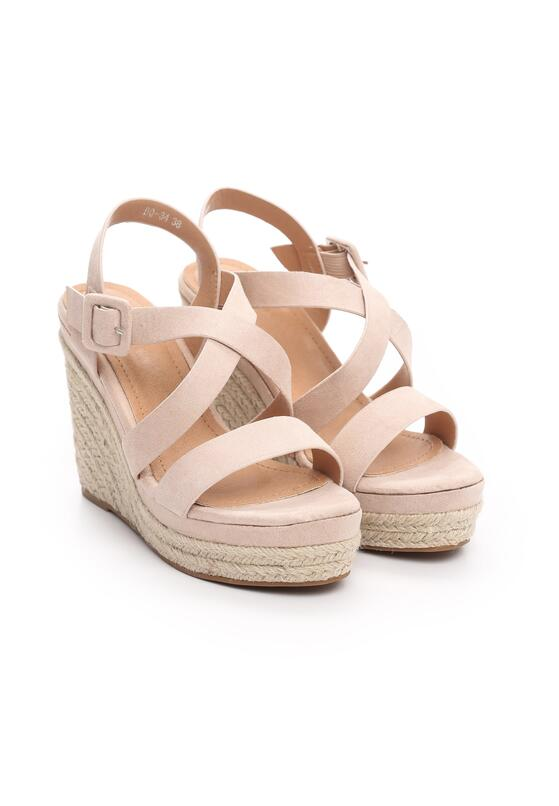 Beżowe Sandały Monatomic