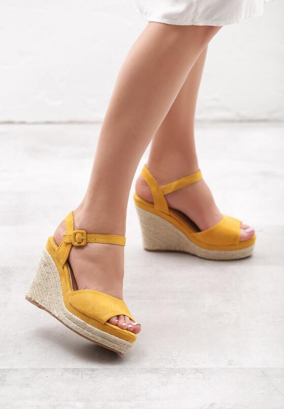 Żółte Sandały Unorthodox