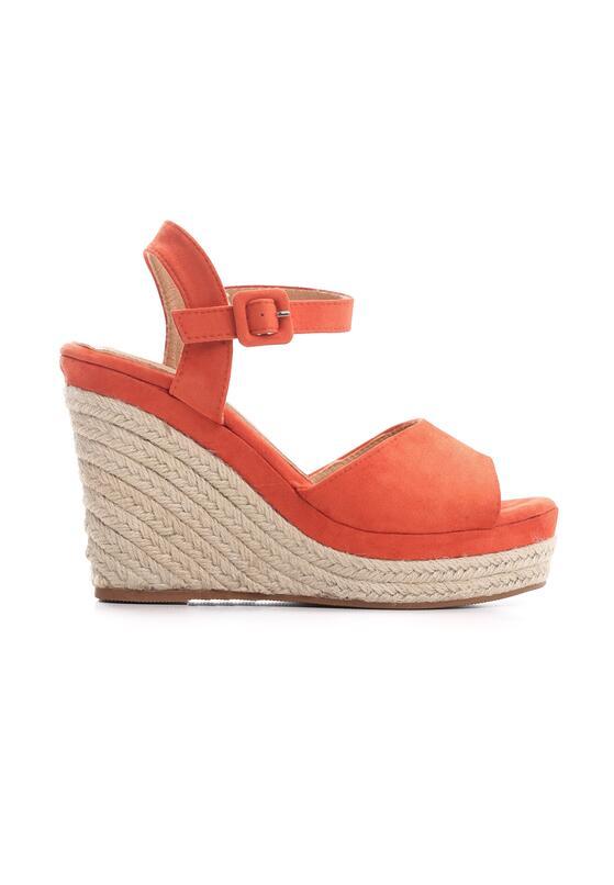 Pomarańczowe Sandały Unorthodox