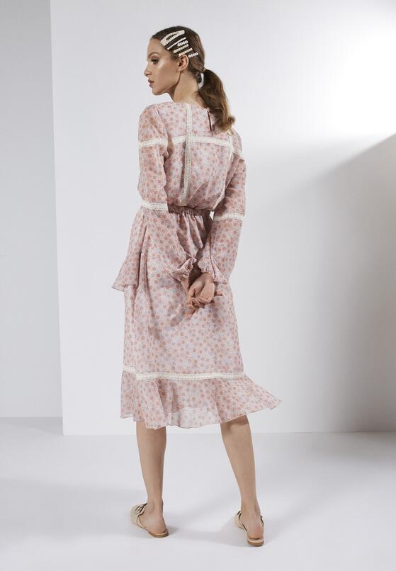 Łososiowa Sukienka Rise Up