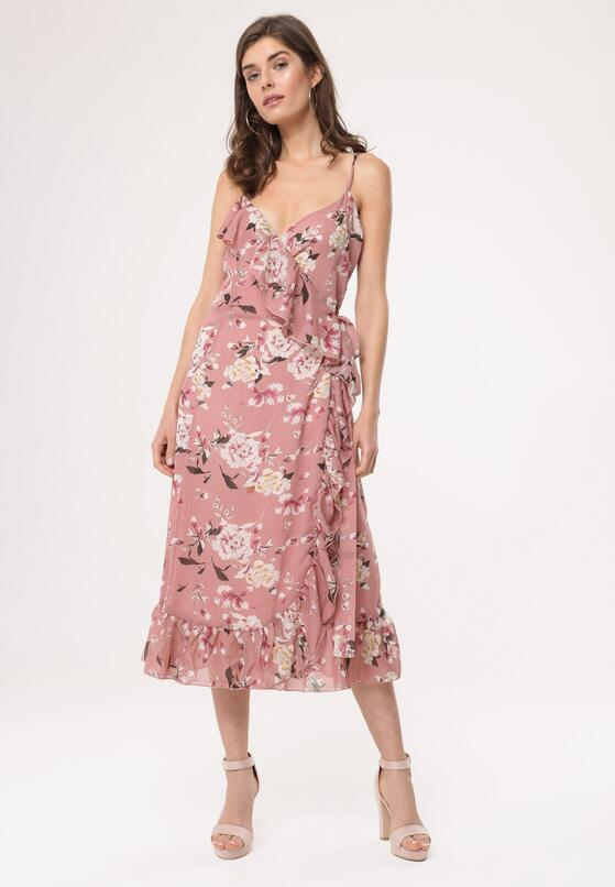 Różowa Sukienka Defend