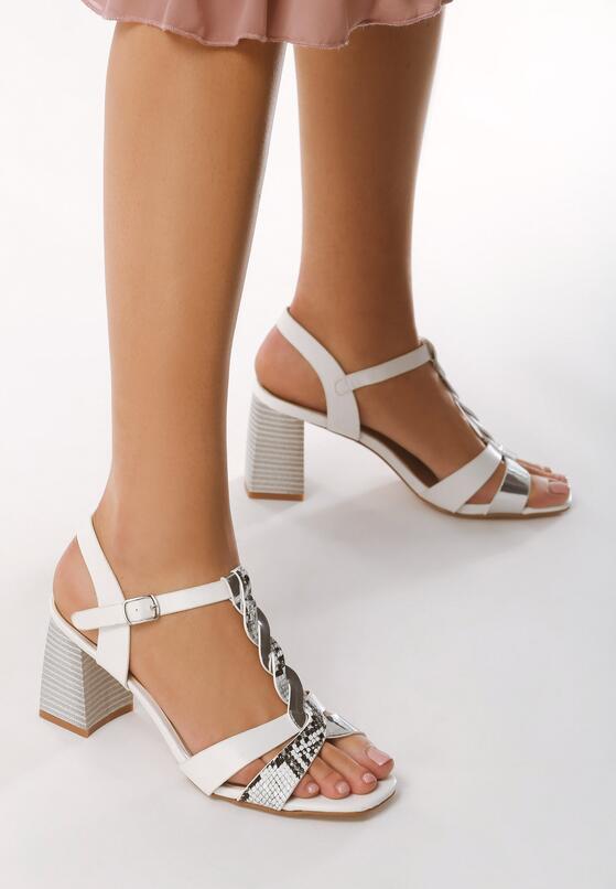 Białe Sandały Weekender